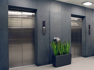 Modern TWO Lifts in each building